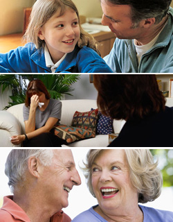 Images of Different Types of Relationships